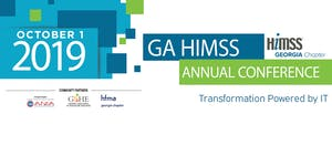 Georgia Chapter HiMSS 2019 Annual Conference Sponsors...