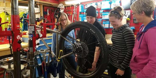 Women's mountain biking maintenance clinic + social ride