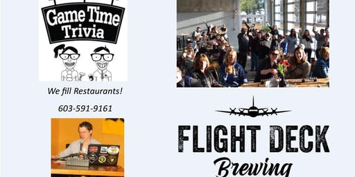 Game Time Trivia at Flight Deck Brewing Brunswick