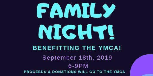 Glowzone Katy Family Night Fundraiser for YMCA