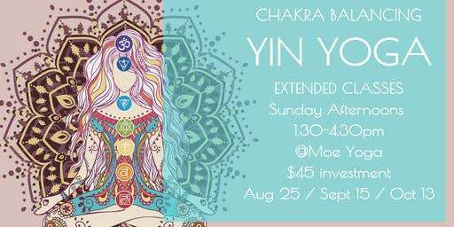 Yin Yoga Sunday Afternoon (October with Caroline)