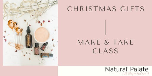 DIY doTERRA Christmas Make & Take Workshop
