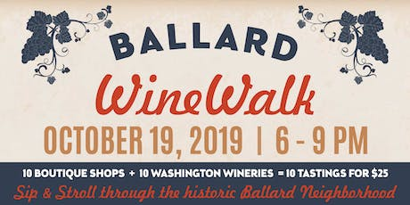 Visit Ballard Wine Walk tickets