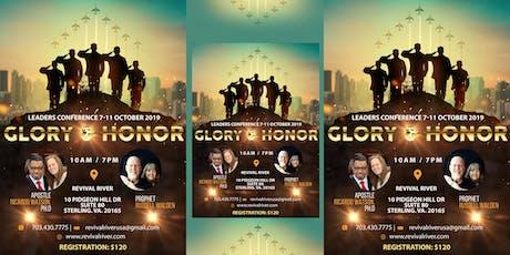 GLORY & HONOR  tickets