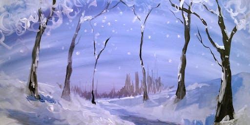 Walk in December Tipsy Brush at Plains Schools