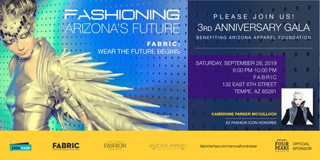 FASHIONING ARIZONA'S FUTURE: FABRIC's 3rd Anniversary and Inaugural Gala tickets