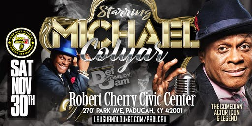 All Black Affair | Starring Comedian Michael Colyar