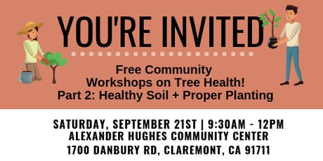 Community Workshops on Proper Tree Care tickets