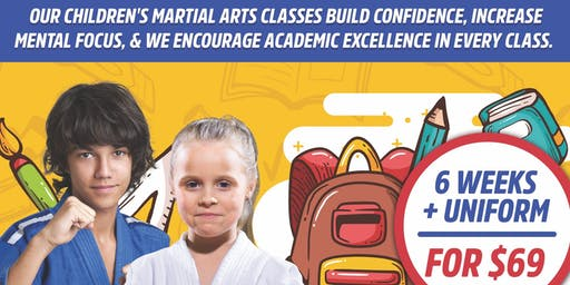 Back to School Martial Arts in Riverside