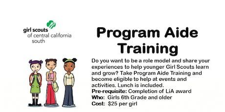 Program Aide Core Training - Kern  tickets