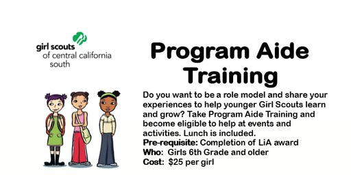 Program Aide Core Training - Kern