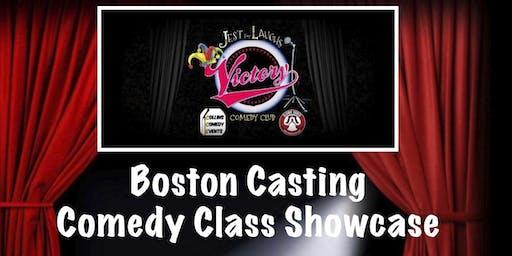 Boston Casting Comedy Class Showcase