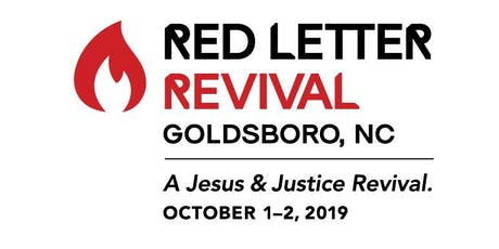 Red Letter Revival Goldsboro tickets