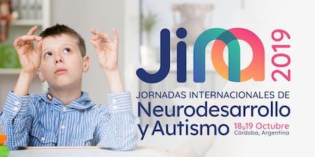 Jornadas Internacionales de Neurodesarrollo y Autismo. JINA 2019 entradas