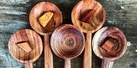 Carve a spoon from a tree - One day workshop tickets