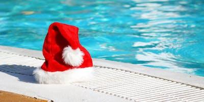 Swimming with Santa