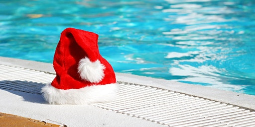 Swimming with Santa