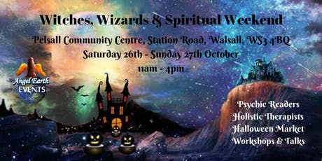 Witches, Wizards & Spiritual Weekend tickets