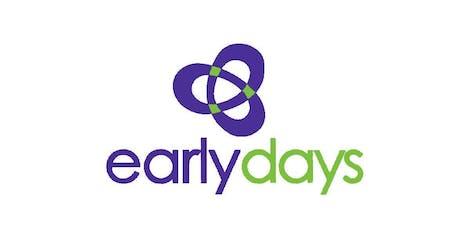 Early Days - Progression to School, Carlton, Thursday 14 November 2019 tickets