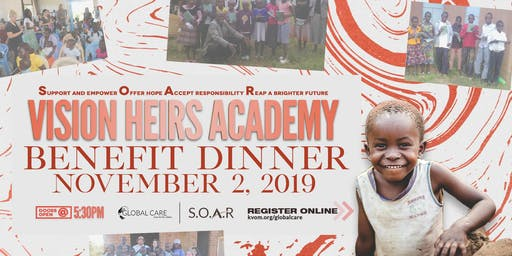 SOAR Vision Heirs Academy (Kenya) Benefit Dinner