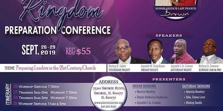 Kingdom Preparation Conference tickets