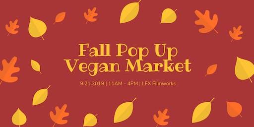 Fall Pop Up Vegan Market - Denver