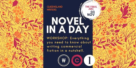 Novel In A Day: Plot Structure, Character Arcs, & Everything Else with Christine Wells tickets
