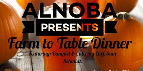 Farm-to-Table Dinner- October 27 tickets