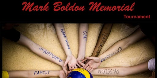 3rd Annual Mark Boldon Memorial Tournament               - Sept 20-21, 2019