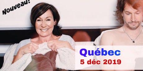 Québec 5 déc 2019 Supplémentaire Le couple  billets