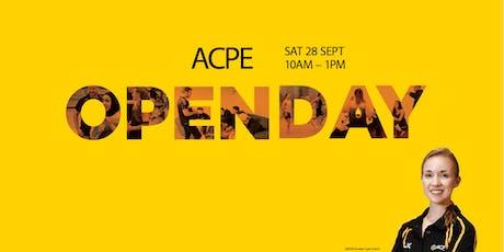 ACPE Open Day - 28 September 2019 - Sydney Olympic Park tickets
