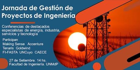 Jornada de Gestión de Proyectos de Ingeniería. entradas