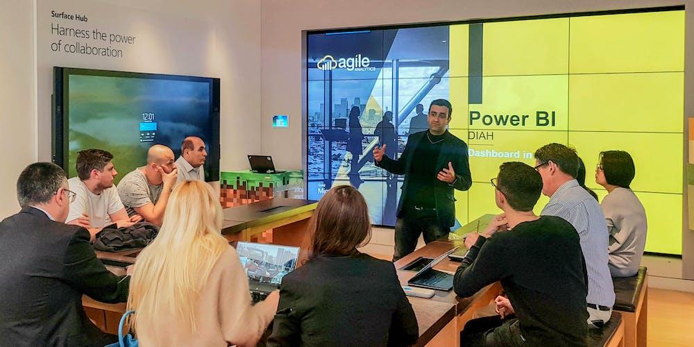 Power BI Dashboard In An Hour (DIAH) – Microsoft Store