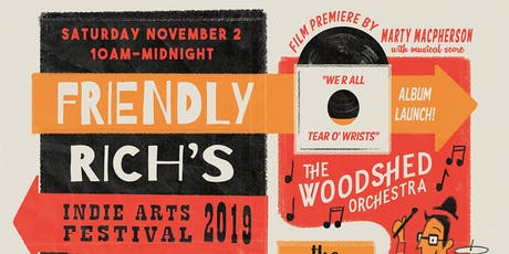 Friendly Rich's Indie Arts Festival 2019 tickets