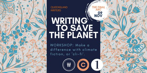 Writing To Save The Planet with Jessica White and Amanda Niehaus