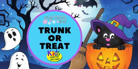 3rd Annual Macaroni Kid's Trunk or Treat Halloween Fun tickets