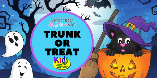 3rd Annual Macaroni Kid's Trunk or Treat Halloween Fun