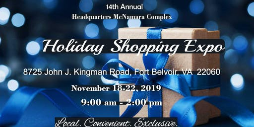 Service Providers Opportunity Holiday Expo McNamara Complex, Full Week