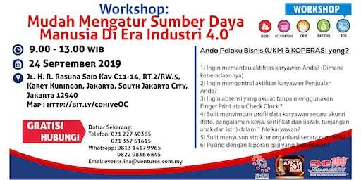 Workshop: Mudah Mengatur Sumber Daya Manusia Di Era Industri 4.0