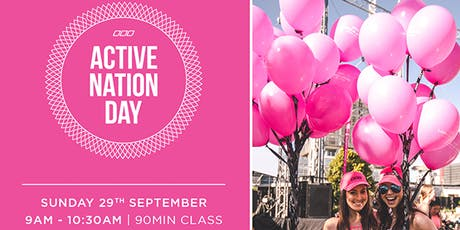 Active Nation Day | Lorna Jane Singapore tickets