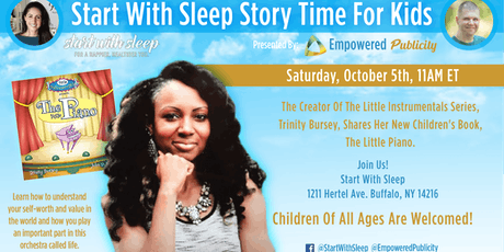 START WITH SLEEP Story Time for Kids tickets