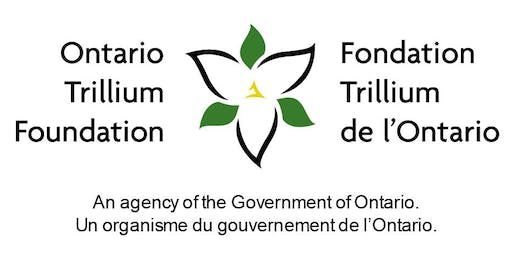 Applying for an OTF Grow or Seed grant? Join us for a workshop in Napanee!
