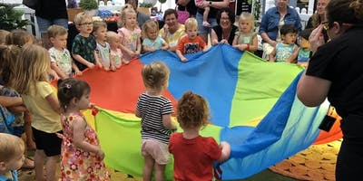 Toddlers and Tales 18 October