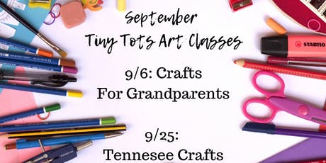 Tiny Tots Art Class :: Tennessee Crafts tickets