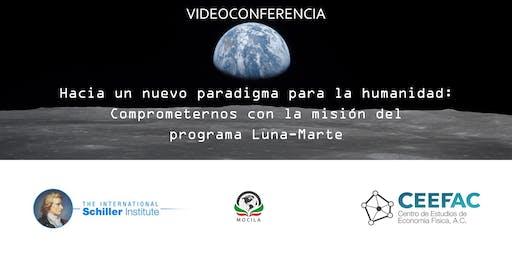 Comprometernos con la misión del programa Luna-Marte