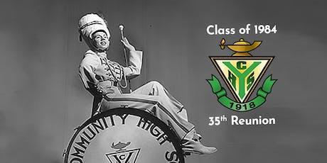 Class of '84 Reunion tickets