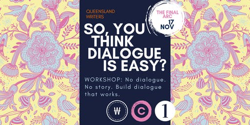 So, You Think Dialogue Is Easy? with Susanne Gervay