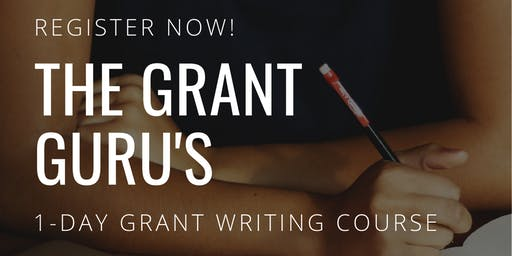 "The ""Grant Guru"" 1-Day Grant Writing Course"