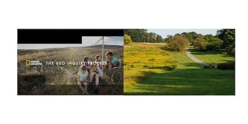 Garden Tour &  Geo-Inquiry Workshop