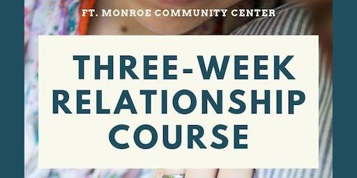 Three-Week Relationship Class